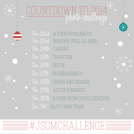 Instagram Holiday Challenge