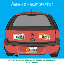 License Plate Design Contest Graphic