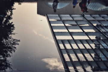 Reflection Pool - Winspear Opera House