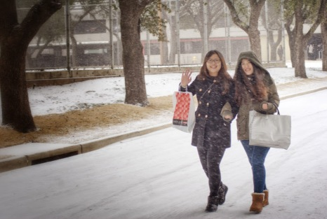 Dallas Snow Storm