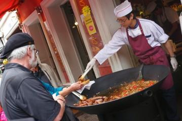 Parisian Street Vendor